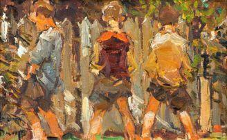 Adriaan Boshoff; Three Boys