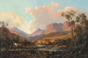 Tinus de Jongh; Mont Aux Sources, Natal
