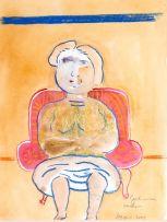 Robert Hodgins; Girl in an Armchair