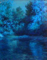 Edward Roworth; Autumn's Gold, Lourens River, Hathersage, Somerset West