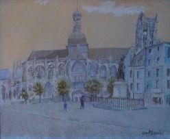 Enslin du Plessis; City Street Scene