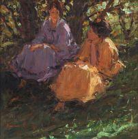 Adriaan Boshoff; Conversation under a Tree
