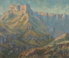 Stefan Ampenberger; Drakensberg Landscape