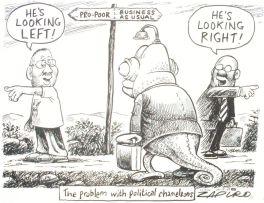 Zapiro (Jonathan Shapiro); The Problem with Political Chameleons