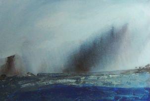 Lynette ten Krooden; Soft Rain over Ancient Fireland