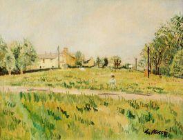 Enslin du Plessis; A Woman in a Field
