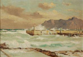 George William Pilkington; The Jetty, Kalk Bay