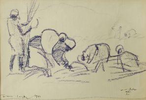 Walter Battiss; Harvesting