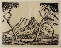 Jacob Hendrik Pierneef; Okahandjaberg, Suidwes-Afrika, (1930)