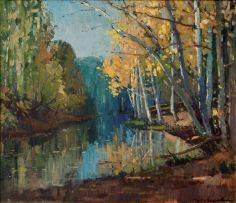Piet van Heerden; Autumn Reflections