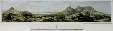 Thomas Bowler; Panorama of Cape Town and Surrounding Scenery