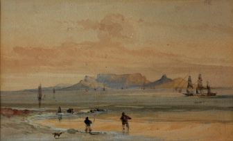 Thomas Bowler; Table Mountain from Blaauwberg