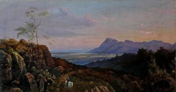 Abraham De Smidt; View From The Bridle Path up Table Mountain