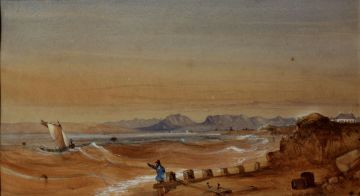 Thomas Bowler; On the Beach near the Military Hospital