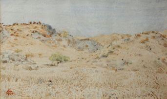 Adolph Jentsch; Landscape, SWA