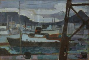 Alfred Krenz; Cape Town Harbour