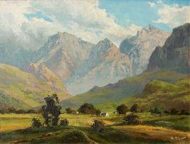 Otto Klar; Landscape