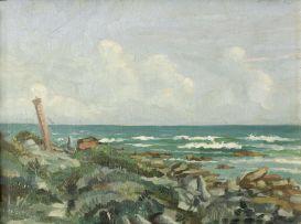 Gregoire Boonzaier; Seascape