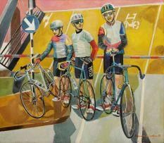 Alexander Podlashuc; Training for the Argus Cycle Race