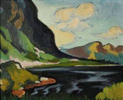 Maggie Laubser; Mountainous Landscape