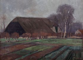 Jacob Hendrik Pierneef; Boerewoning, Rotterdam, Holland