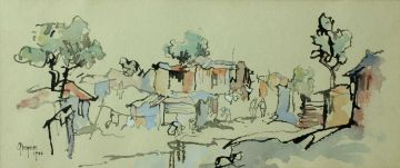 Gregoire Boonzaier; Pondokkies, Winter, Crossroads, Cape