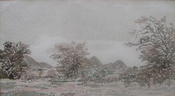 Adolph Jentsch; Namibian Landscape