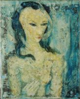 Alexis Preller; Blue Nude
