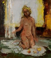 Cecil Higgs; Kneeling Nude