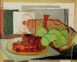 Maud Sumner; Still Life with Fruit on a Table