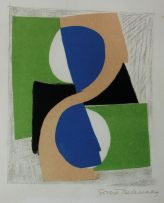 Sonia Delaunay; Abstract Composition