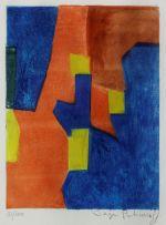 Serge Poliakoff; Composition Rouge, Jaune et Bleu