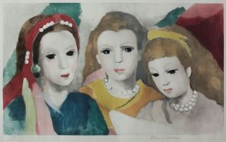 Marie Laurencin; Trois Femmes en Buste