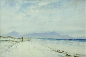 William Timlin; False Bay Coastline from Muizenberg