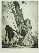 William Timlin; Etchings 1912