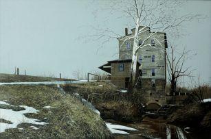 John Meyer; The Mansfield Roller Mill, Indiana