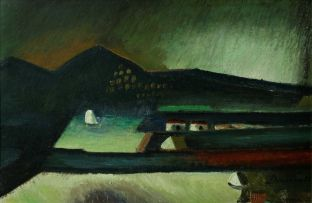 Pranas Domsaitis; Karoo Sunset