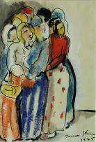 Irma Stern; Women Gossiping
