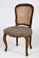 A Cape Louis XV style stinkwood side chair, late 18th Century