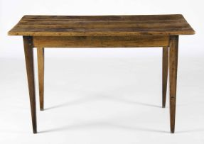 A Cape yellowwood and stinkwood table, late 19th century