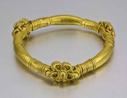 A 24ct gold bangle, Pyu Kingdom, Burma, 6th-9th century