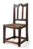 A Cape Transitional teak side chair, late 18th century