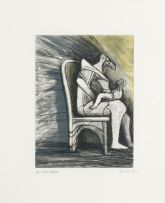 Henry Moore; Mother and Child XVIII, 1983 (C.688)