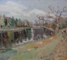Enslin du Plessis; The Bridge, Hatfield Park