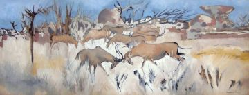 Gordon Vorster; Antelopes Fighting