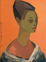 Bettie Cilliers-Barnard; A Head of a Woman