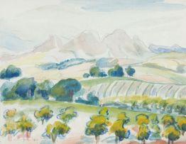 Maggie Laubser; Landscape
