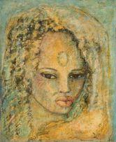 Alexis Preller; African Head