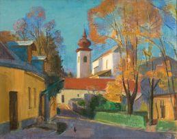 Alfred Krenz; Gaaden by Midday, Austria