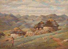 Erich Mayer; A Mountainous Landscape